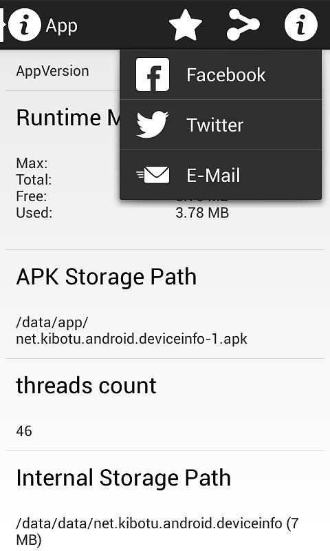 App and Sharing