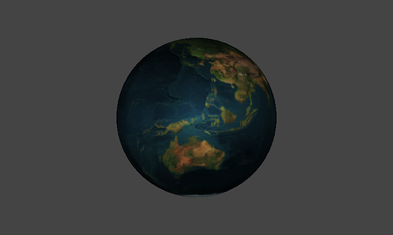 Earth Season Shader